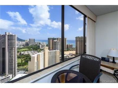 Hawaii County, Honolulu County Condo/Townhouse For Sale: 411 Hobron Lane #3805