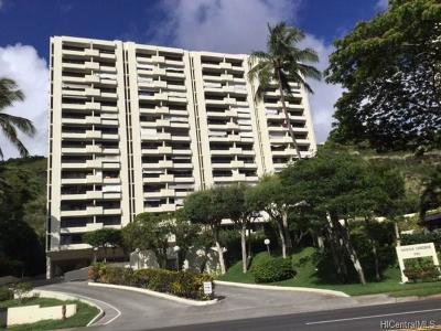 Condo/Townhouse For Sale: 6750 Hawaii Kai Drive #503