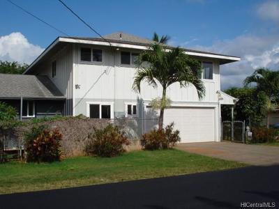 Waialua Single Family Home For Sale: 67-278a Kukea Circle