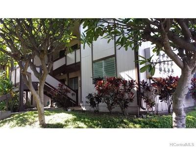Pearl City Condo/Townhouse For Sale: 96-234 Waiawa Road #2017