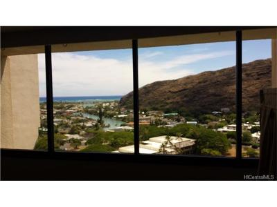 Honolulu County Condo/Townhouse For Sale: 555 Hahaione Street #15C