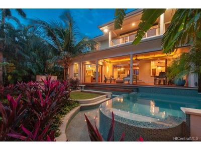 Honolulu HI Single Family Home In Escrow Showing: $3,275,000