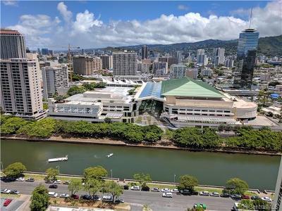 Honolulu Condo/Townhouse In Escrow Showing: 400 Hobron Lane #2810