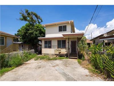 Honolulu Single Family Home In Escrow Showing: 1666 Lusitana Street #D