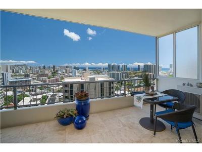 Honolulu Condo/Townhouse For Sale: 999 Wilder Avenue #903