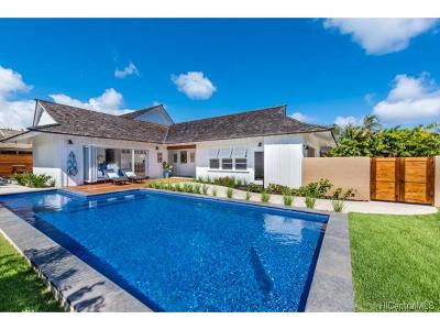 Honolulu HI Single Family Home For Sale: $3,250,000