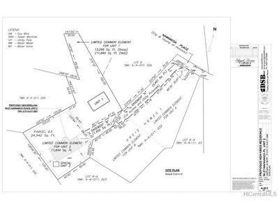 Waipahu Residential Lots & Land For Sale: 94-027 Nawaakoa Place #2
