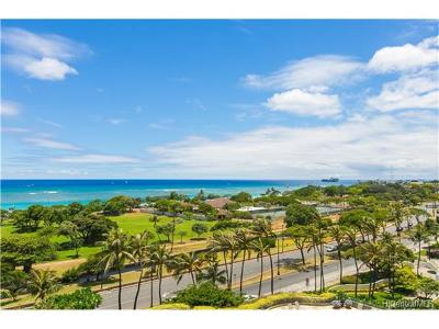 Hawaii County, Honolulu County Condo/Townhouse In Escrow Showing: 1350 Ala Moana Boulevard #1003