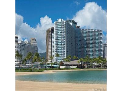 Hawaii County, Honolulu County Condo/Townhouse In Escrow Showing: 1777 Ala Moana Boulevard #1910