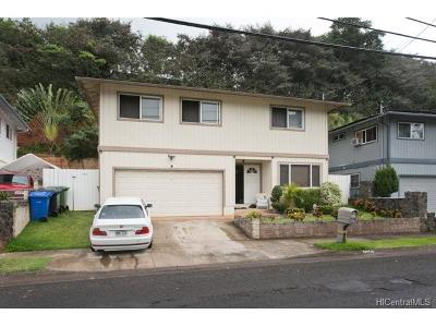 Pearl City Single Family Home In Escrow Showing: 2256 Auhuhu Street