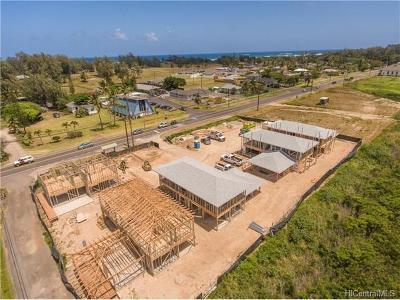 Kahuku Single Family Home For Sale: 56-448 Kamehameha Highway