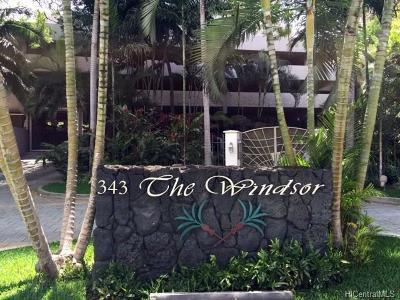 Honolulu Condo/Townhouse For Sale: 343 Hobron Lane #1801