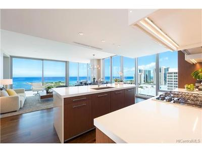 Condo/Townhouse For Sale: 1555 Kapiolani Boulevard #PH2205/2