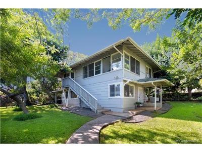 Honolulu HI Single Family Home For Sale: $1,225,000