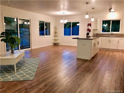 Wahiawa Single Family Home In Escrow Showing: 1817 Kalie Place #D