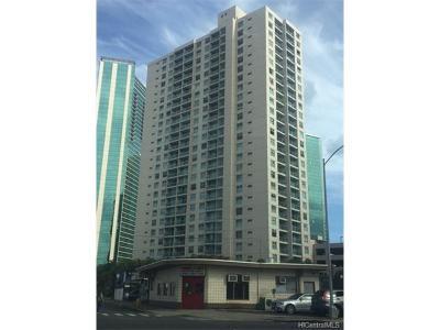 Honolulu Condo/Townhouse In Escrow Showing: 1133 Waimanu Street #302