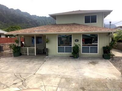 Waimanalo Single Family Home For Sale: 41-215 Paupahapaha Place