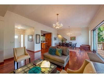 Honolulu HI Single Family Home In Escrow Showing: $2,498,000