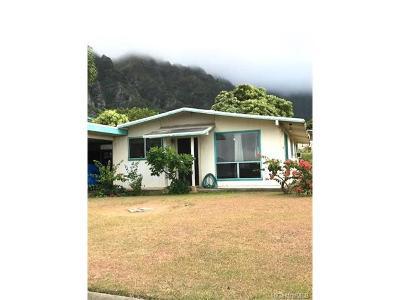 Waimanalo Single Family Home In Escrow Showing: 41-278 Kaaiai Street