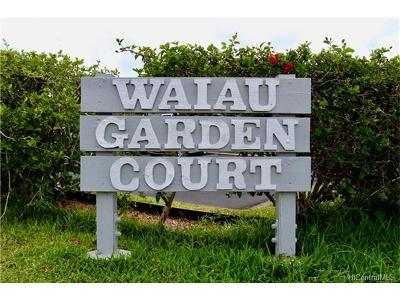 Pearl City Condo/Townhouse In Escrow Showing: 98-1401 Kamahao Street #173