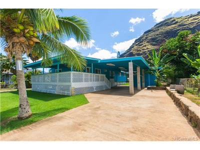 Waianae HI Single Family Home For Sale: $849,999