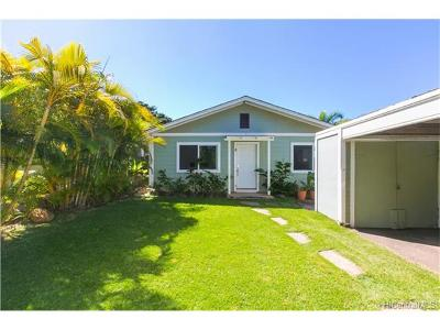 Haleiwa Single Family Home In Escrow Showing: 58-137 Mamao Street