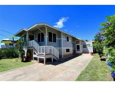 Wahiawa Single Family Home For Sale: 212 Thomas Street