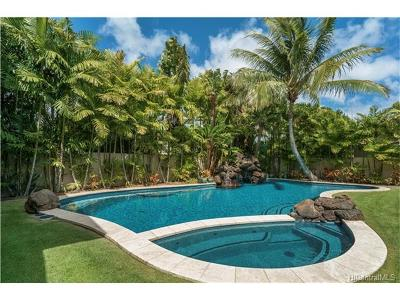 Hawaii County, Honolulu County Single Family Home For Sale: 4462 Kahala Avenue