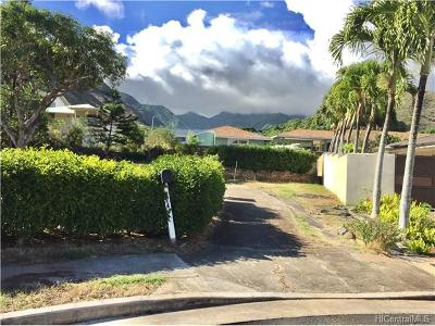 Honolulu Residential Lots & Land For Sale: 574 Kiholo Street
