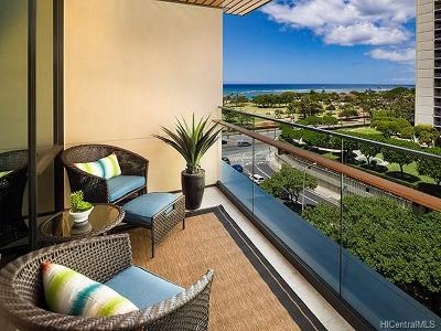 Honolulu Condo/Townhouse For Sale: 1388 Ala Moana Boulevard #1603