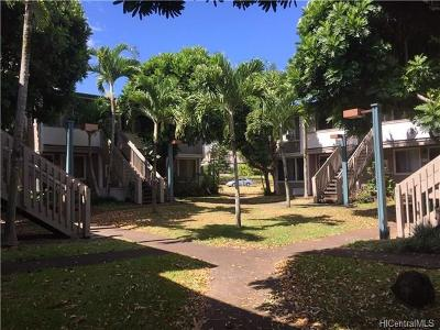 Mililani Condo/Townhouse For Sale: 95-652 Hanile Street #D207