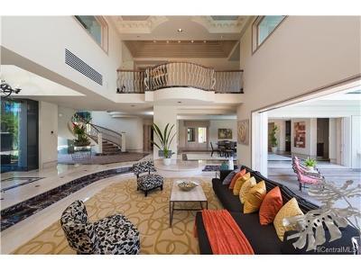 Hawaii County, Honolulu County Single Family Home In Escrow Showing: 4504 Kahala Avenue