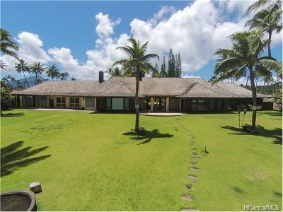 Kailua Single Family Home For Sale: 51 Kaikea Place