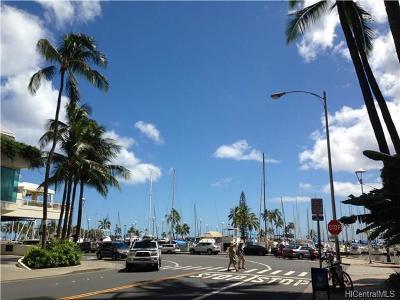 Hawaii County, Honolulu County Condo/Townhouse In Escrow Showing: 1765 Ala Moana Boulevard #1681