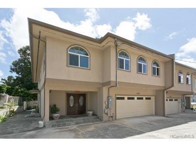 Honolulu Single Family Home For Sale: 1529 Auld Lane