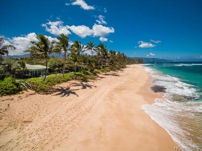 Haleiwa HI Single Family Home For Sale: $3,595,000
