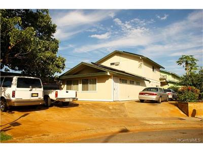 Pearl City Single Family Home In Escrow Showing: 1155 Inia Place