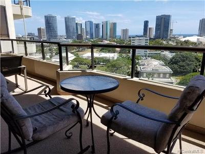 Honolulu Condo/Townhouse For Sale: 1221 Victoria Street #1104