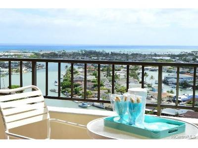 Honolulu County Condo/Townhouse In Escrow Showing: 6750 Hawaii Kai Drive #1404