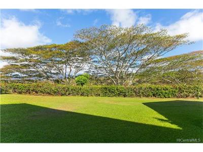 Pearl City Condo/Townhouse In Escrow Showing: 98-1752 Kaahumanu Street #B