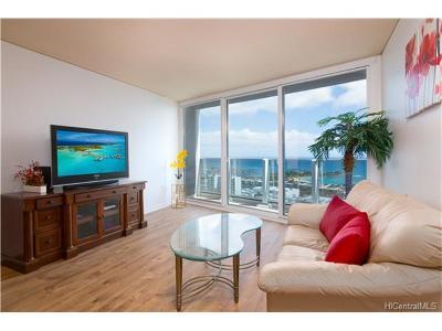 Honolulu Condo/Townhouse For Sale: 1296 Kapiolani Boulevard #4107