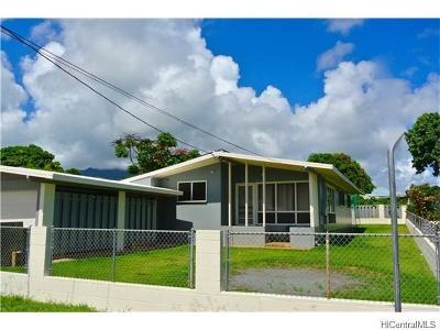 Waimanalo Single Family Home In Escrow Showing: 41-1641 Humuka Loop