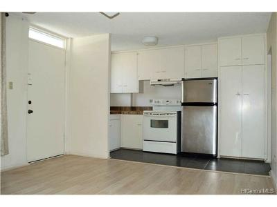 Honolulu Condo/Townhouse In Escrow Showing: 1525 Pensacola Street #201