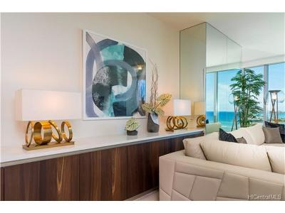 Hawaii County, Honolulu County Rental For Rent: 1118 Ala Moana Boulevard #1802