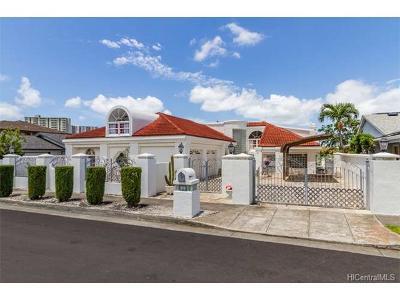Single Family Home For Sale: 1432 Ala Leie Place