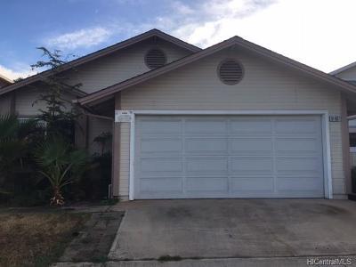 Ewa Beach Single Family Home For Sale: 91-907 Kuaeewa Place