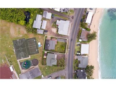 Hauula Single Family Home In Escrow Showing: 54-056 Kamehameha Highway