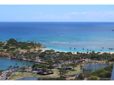 Honolulu Condo/Townhouse For Sale: 410 Atkinson Drive #3123