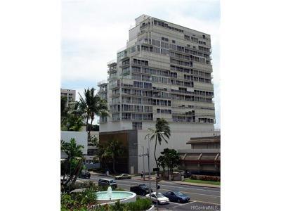 Honolulu, Kailua, Waimanalo, Honolulu, Kaneohe Condo/Townhouse For Sale: 419 Atkinson Drive #2002