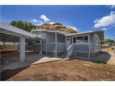 Waianae HI Single Family Home In Escrow Showing: $449,000